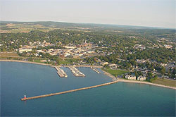 petoskey-michigan-aerial